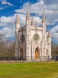 Cothic-Kapelle in Peterhof lizenzfreies stockfoto
