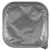 Coto de la lata - grayscale Foto de archivo libre de regalías