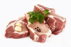 Cotoletta del porco Immagini Stock