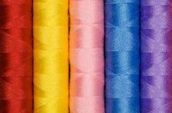 Coton coloré multi Photos stock