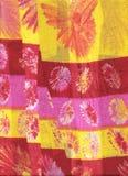 coton plissé froissé Photo stock