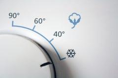 Coton sur le froid Photos libres de droits