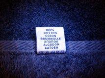 cotone 100% Immagini Stock
