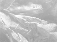 Cotone bianco astratto Fotografia Stock