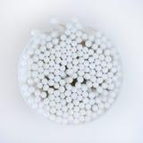 Cotonetes de algodão Fotos de Stock Royalty Free