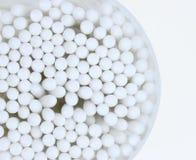 Cotonetes de algodão Imagens de Stock Royalty Free