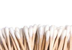 Cotonetes de algodão Fotografia de Stock