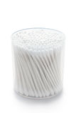 Cotonetes de algodão Fotos de Stock