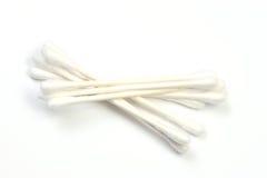 Cotonetes de algodão Fotografia de Stock Royalty Free