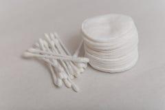 Cotonetes de algodão Imagem de Stock