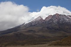 cotopaxi厄瓜多尔火山 免版税库存照片