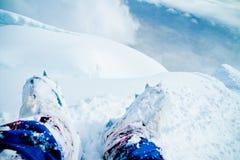 Cotopaxi火山倾斜在厄瓜多尔 免版税库存照片