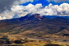 Cotopaxi in Ecuador Stockbild