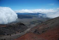 cotopaxi ecuador vulkan Arkivfoto