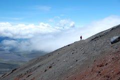cotopaxi ecuador vulkan Arkivbilder