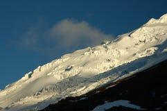 Cotopaxi glacier, Ecuador Andes. Glacier of Cotopaxi Mount, 5.897 m. - the highest active volcano in Ecuador Royalty Free Stock Images
