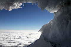 Cotopaxi Glacier Royalty Free Stock Photo