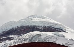 Cotopaxi - the highest active volcano Stock Photography