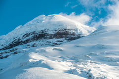 Cotopaxi the highest active volcano in the world Royalty Free Stock Image