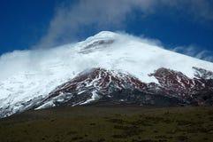 Cotopaxi mountain, Ecuador Andes. Mount Cotopaxi - the highest active volcano at 5.897 m. Ecuador Royalty Free Stock Photo