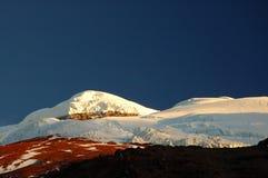 Cotopaxi mountain, Ecuador Andes. Mount Cotopaxi - the highest active volcano at 5.897 m. Ecuador Royalty Free Stock Image