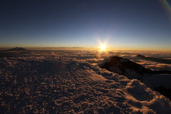 Cotopaxi Summit view Stock Photography