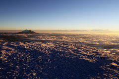 Cotopaxi Summit view Royalty Free Stock Photo