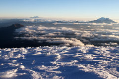 Cotopaxi Summit view Royalty Free Stock Photos