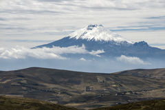 Cotopaxi Volcano, Andean Highlands of Ecuador Royalty Free Stock Photo