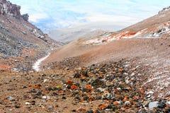 Cotopaxi Volcano Colors Stock Photo