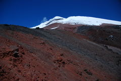 Cotopaxi Volcano - Ecuador royalty free stock photo