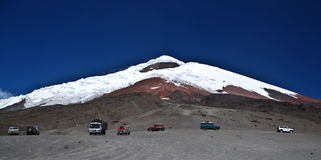 Cotopaxi Volcano - Ecuador royalty free stock photos