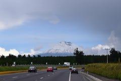 Cotopaxi Volcano Ecuador Fotografering för Bildbyråer