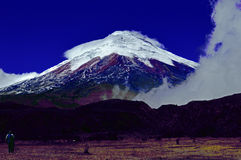 Cotopaxi. This is a volcano in Ecuador named Cotopaxi Royalty Free Stock Image