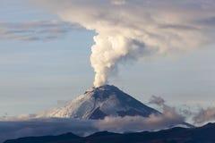 Cotopaxi volcano eruption royalty free stock photos