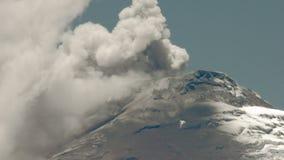 Cotopaxi Volcano Eruption Time Lapse almacen de metraje de vídeo