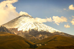 Cotopaxi Volcano Violent Explosion Royalty Free Stock Photo