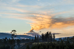 Cotopaxi-Vulkan Stockbild