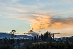 Cotopaxi-Vulkan Stockfoto