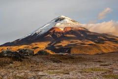 Cotopaxi-Vulkan Lizenzfreie Stockfotos