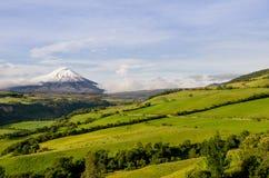 Cotopaxi vulkan, Ecuador. royaltyfria bilder