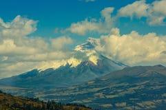 Cotopaxi-Vulkan in Ecuador, Südamerika Stockfotos