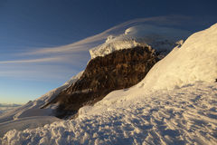 Cotopaxi wulkan, ścienny Yanasacha obraz royalty free