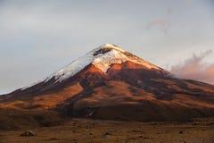 Cotopaxi wulkan fotografia stock