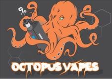 Cotopus Vapes Imagem de Stock Royalty Free