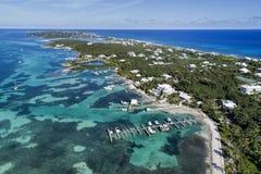 Cotovelo Cay Aerial imagem de stock royalty free
