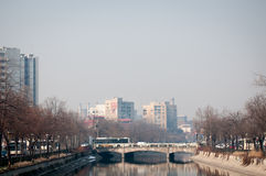 Cotroceni district view Stock Image