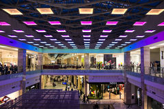 Cotroceni Mall. Inside View Of Cotroceni Mall In Bucharest, Romania stock image