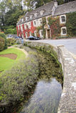 Cotswalds country house hotel bilbury uk Stock Photos