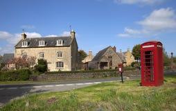Cotswold村庄在夏天 库存图片